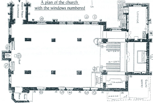Plan of St Augustin's