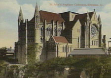 Exterior of St John's Anglican Cathedral, Brisbane