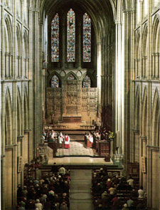 Interior of Truro Cathedral from West Gallery